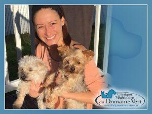 Melanie Robitaille | Équipe Clinique vétérinaire du domaine vert, Mirabel
