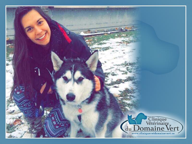 Jessica Cinq-Mars | Équipe Clinique vétérinaire du domaine vert, Mirabel