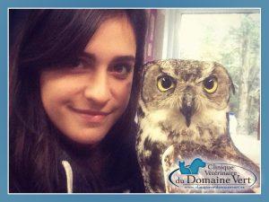 Emmie-Liliane Gemme, Technicienne en santé animale | Équipe Clinique vétérinaire du domaine vert, Mirabel