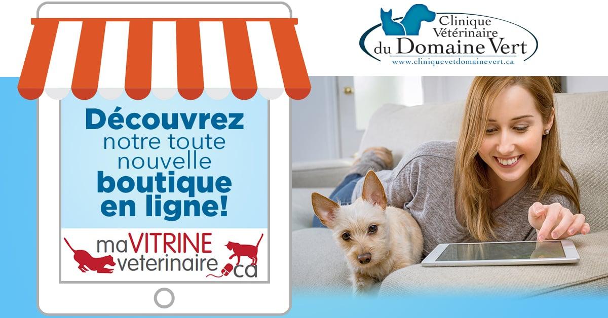 Boutique en ligne| Équipe Clinique vétérinaire du domaine vert, Mirabel