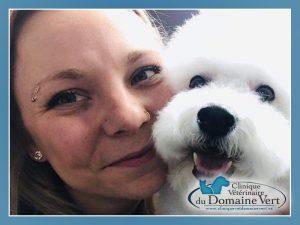 Natacha Coté | Équipe Clinique vétérinaire du domaine vert, Mirabel