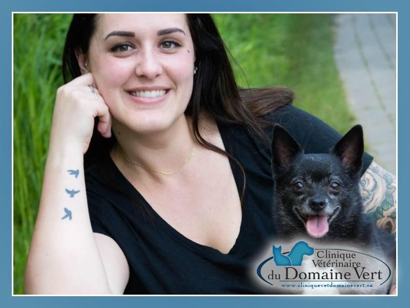 Roxanne Langlois-Verret | Équipe Clinique vétérinaire du domaine vert, Mirabel